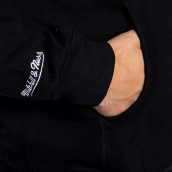 Hoodie Mitchell & Ness Pinscript ''Black''