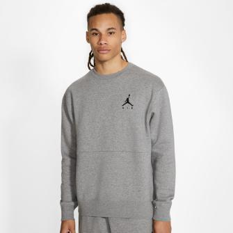 Air Jordan Jumpman Fleece Crew Sweatshirt ''Grey''