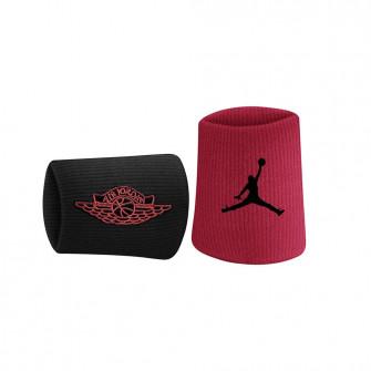 Znojnici za zapešća Air Jordan Jumpman x Wings ''Black/Red''