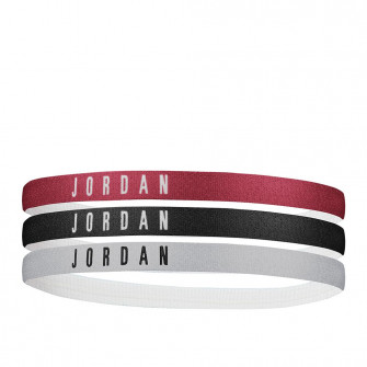 Trake za kosu Air Jordan 3-Pack ''Black/White/Gym Red''