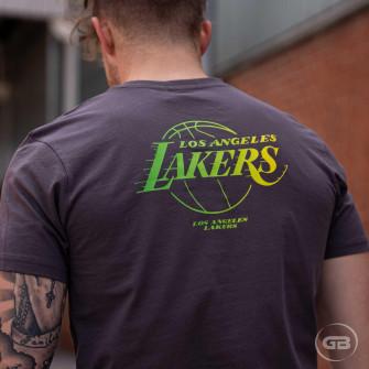 Kratka majica New Era NBA Fade Los Angeles Lakers ''Grey''