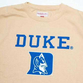 Hoodie M&N NCAA Duke University Crewneck ''Khaki''