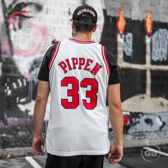 Dres M&N Swingman Jersey Chicako Bulls Scottie Pippen