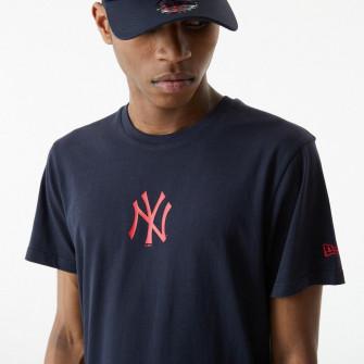Kratka majica New Era MLB NY Yankees USA Baseball Bat Flag ''Navy''