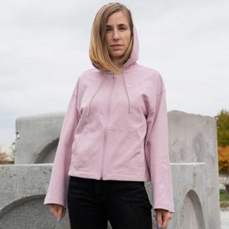 Ženski hoodie Nike Sportswear Full-Zip ''Plum Chalk''