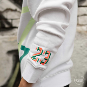 Air Jordan Sport DNA Fleece Crew ''White''