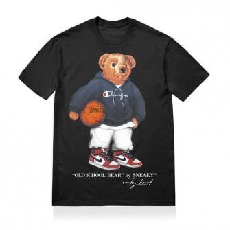 Kratka majica Sneaky Old School Bear ''Black''