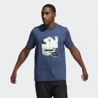 Kratka majica adidas Slept On Graphic ''Crew Navy''