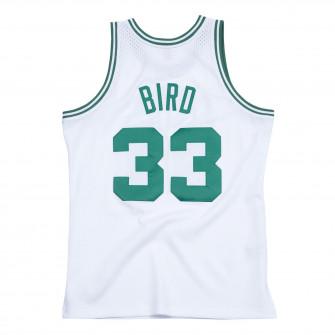 Dres M&N Swingman Boston Celtics 1985-86 Larry Bird ''White''