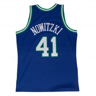 Dres M&N NBA Dirk Nowitzki Dallas Mavericks 1998-99 Road Swingman ''Blue''