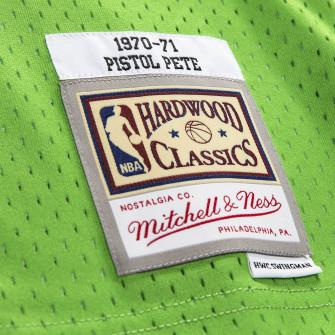 Dres M&N Swingman Atlanta Hawks 1970-71 Pete Maravich ''Green''