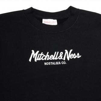 Hoodie Mitchell & Ness Pinscript Logo ''Black''