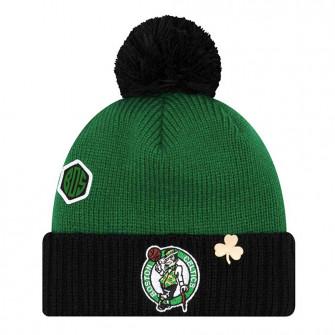 Zimska kapa New Era NBA Boston Celtics Draft Knit