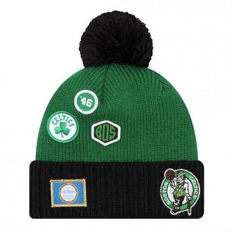 Zimska kapa New Era NBA18 Boston Celtics Draft Knit