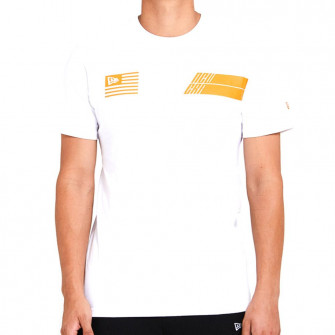 Kratka majica New Era Neon Graphic Wordmark ''White''