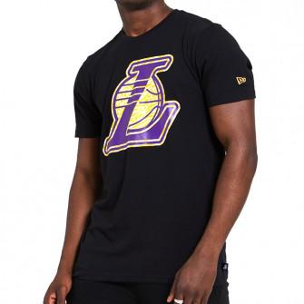 Kratka majica New Era Infill Logo Los Angeles Lakers ''Black''