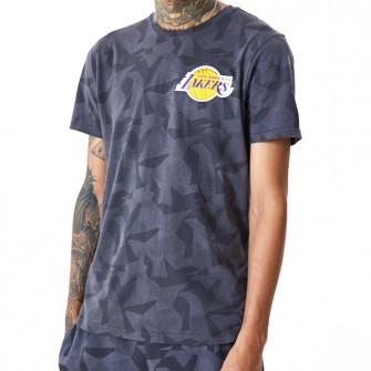 Kratka majica New Era Los Angeles Lakers Geometric Camo ''Grey''