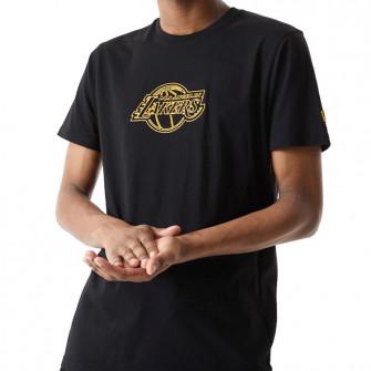 Kratka majica New Era Chain Stitch Los Angeles Lakers ''Black''