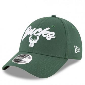 Kapa New Era NBA20 Draft Milwaukee Bucks 9Forty ''Green''