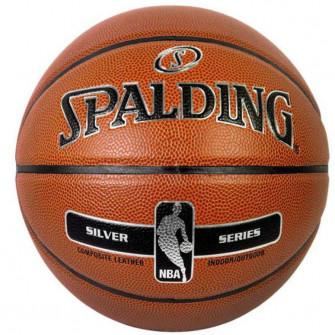 Košarkaška lopta Spalding NBA Silver