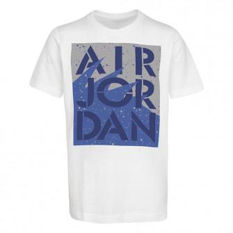 Dječja kratka majica Air Jordan AJ5 Stencil Stack ''White''