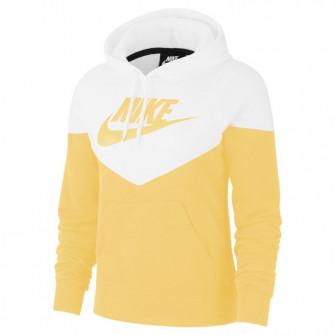 Ženski hoodie Nike Sportswear Heritage ''Topaz Gold/White''
