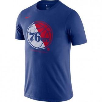 Kratka majica Nike Dri-FIT Bolt Logo Philadelphia 76ers ''Rush Blue''