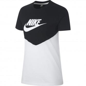 Ženska kratka majica Nike Sportswear Heritage ''Black/White''