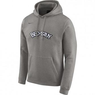 Hoodie Nike Brooklyn Nets City Edition Logo ''DK Grey Heather''