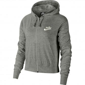 Ženski hoodie Nike Sportswear Gym Vintage Full-Zip ''Grey''