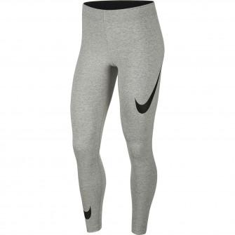 Ženske tajice Nike Sportswear Leg-A-See Swoosh ''DK Grey Heather''