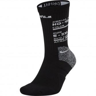Čarape Nike LeBron Elite ''Black''
