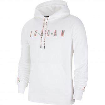 Air Jordan Sport DNA Fleece Pullover Hoodie ''White''