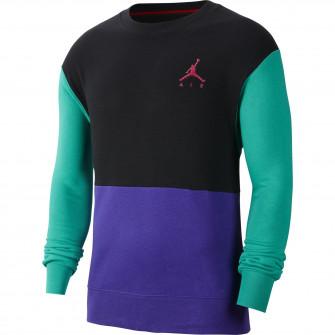 Air Jordan Jumpman Fleece Crew ''Black/Purple/Green''
