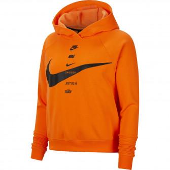 Ženski hoodie Nike Sportswear Swoosh ''Total Orange''