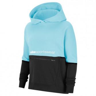 Ženski hoodie Nike Sportswear Archive Remix ''Glacier Ice/Black''