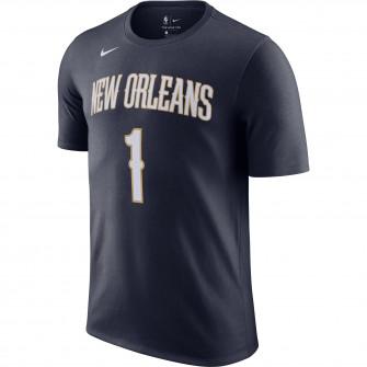 Kratka majica Nike NBA Zion Williamson New Orleans Pelicans ''College Navy''