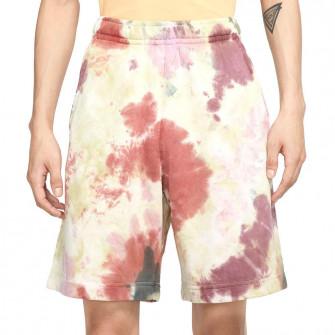 Kratke hlače Nike Sportswear Tye-Dye French Terry ''Dark Beetroot''