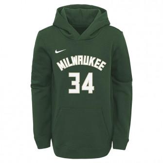 Dječji hoodie Nike Milwaukee Bucks Giannis Antetokounmpo ''Fir''