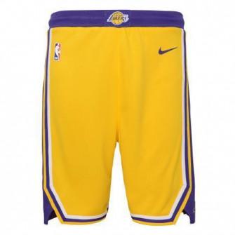 Dječje kratke hlače Nike NBA Los Angeles Lakers Icon Edition 2020 Swingman ''Yellow''