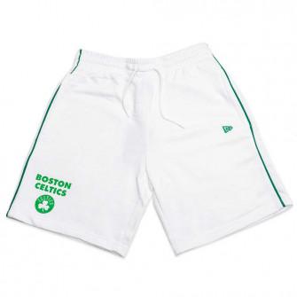 Kratke hlače New Era Stripe Piping Boston Celtics ''White''