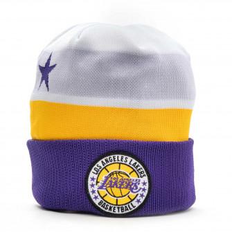 Zimska kapa New Era NBA18 Los Angeles Lakers Tipoff Knit