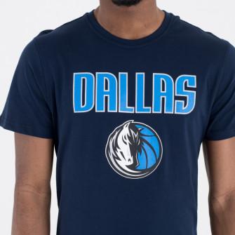 Kratka majica New Era Dallas Mavericks Team Logo