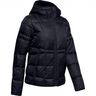 Ženska jakna UA Armour Down Hooded Jacket ''Black''