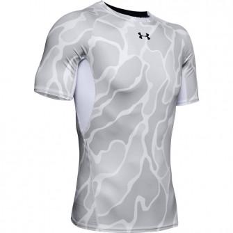 Kratka majica UA HeatGear Print ''White''