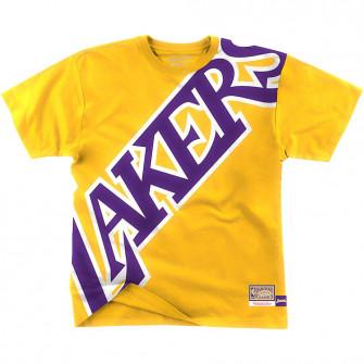 Kratka majica M&N NBA Los Angeles Lakers ''Yellow''