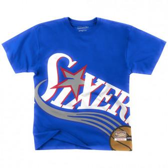 Kratka majica M&N NBA Philadelphia 76ers ''Blue''