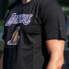 Kratka majica New Era LA Lakers Team Logo ''Black''