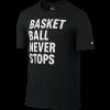 """Kratka majica Nike """"Basketball Never Stops"""""""