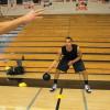 Manjša košarkarska žoga SKLZ Lahka